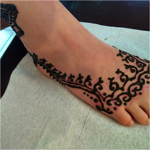 Henna Fun and Thanks!